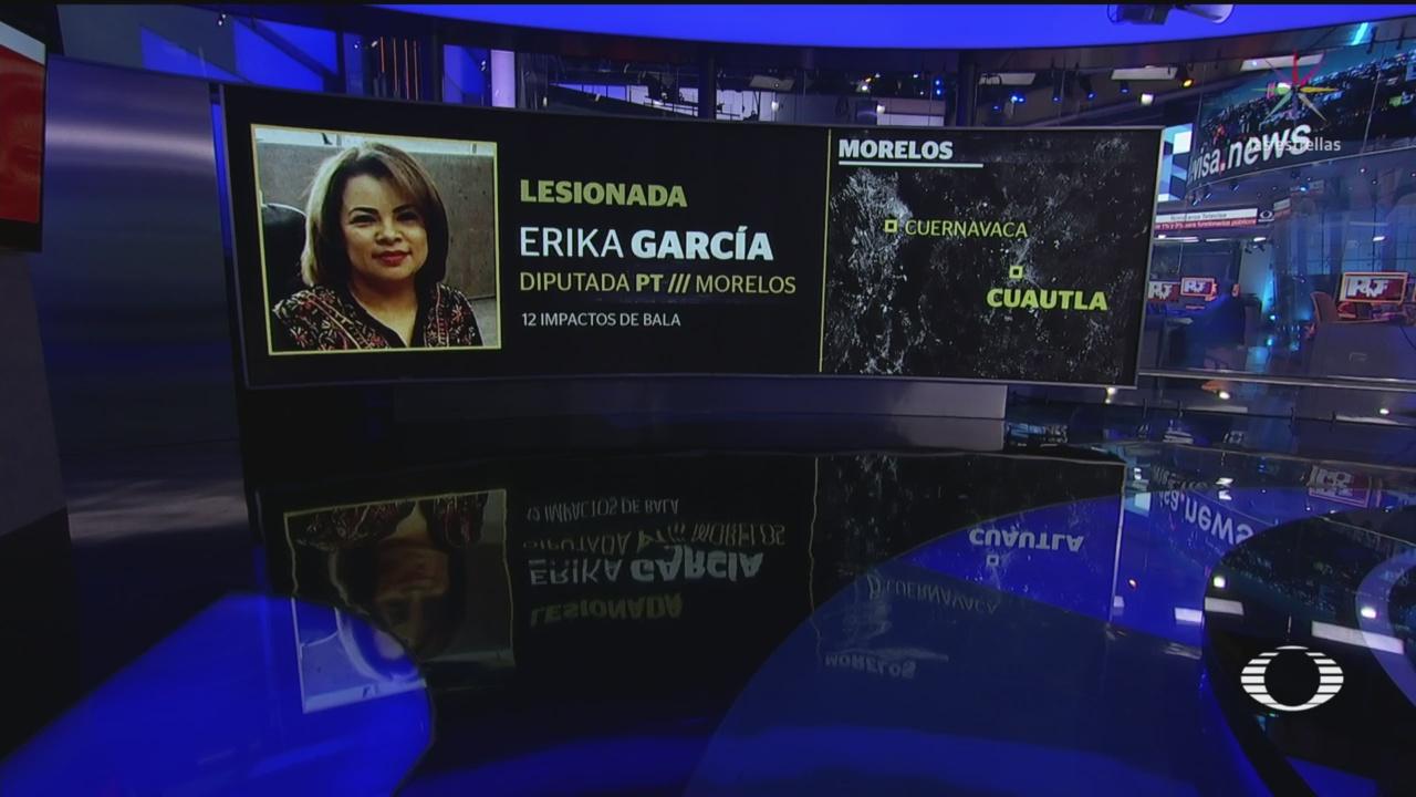 Foto: Atacan Diputada PT Erika García Cuautla 18 Junio 2019