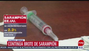 Foto: Aumenta brote de sarampión en EU; minorías se niegan a vacunarse