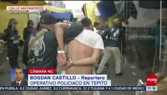 Foto: Autoridades capitalinas realizan operativos en Iztacalco y Cuauhtémoc