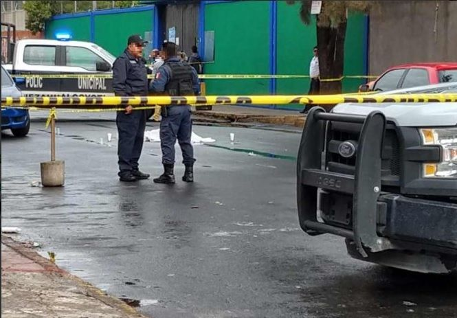 Foto: balacera en Nezahualcóyol, 25 de junio 2019. Twitter @AMANECERDIARIO