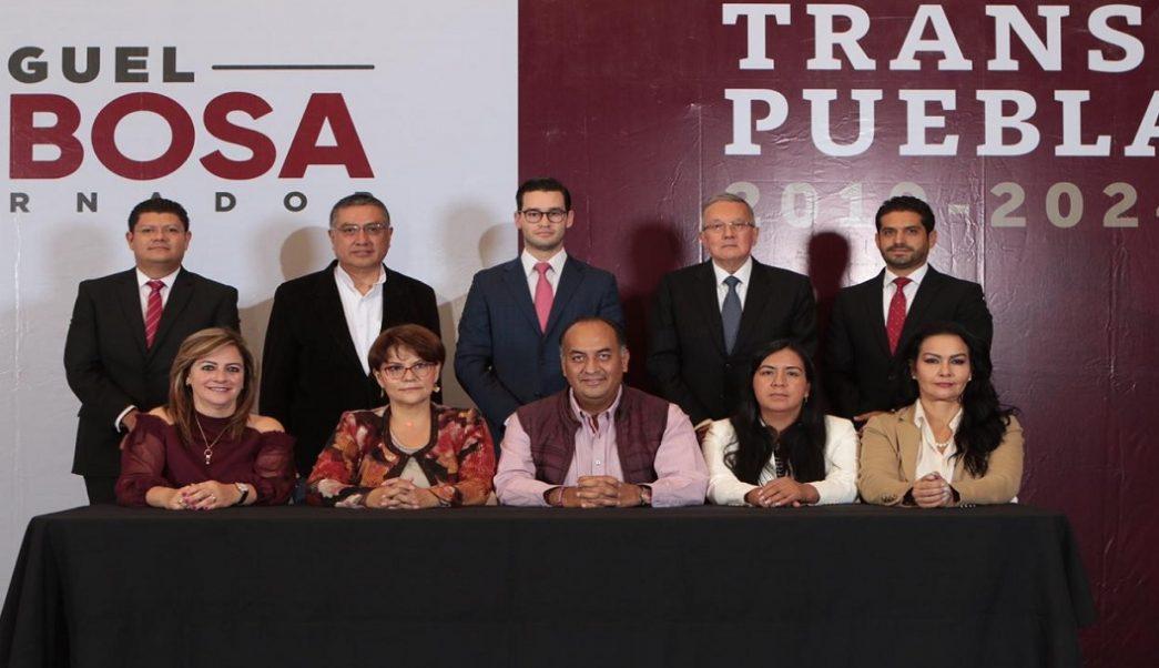 Anuncian a equipo de transición del gobernador electo de Puebla, Miguel Barbosa