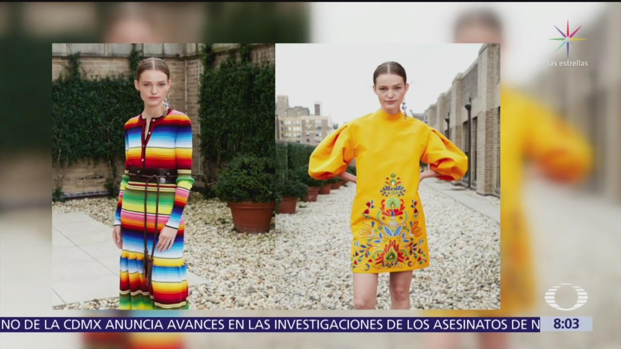 Carolina Herrera y plagio de diseños a pueblos originarios