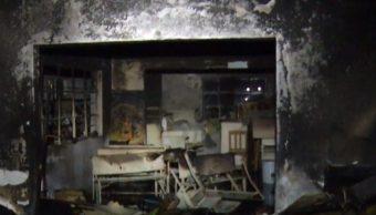 Foto: Ladrones incendian casa con anciana adentro, en alcaldía Gustavo A. Madero, 27 de junio de 2019, Ciudad de México