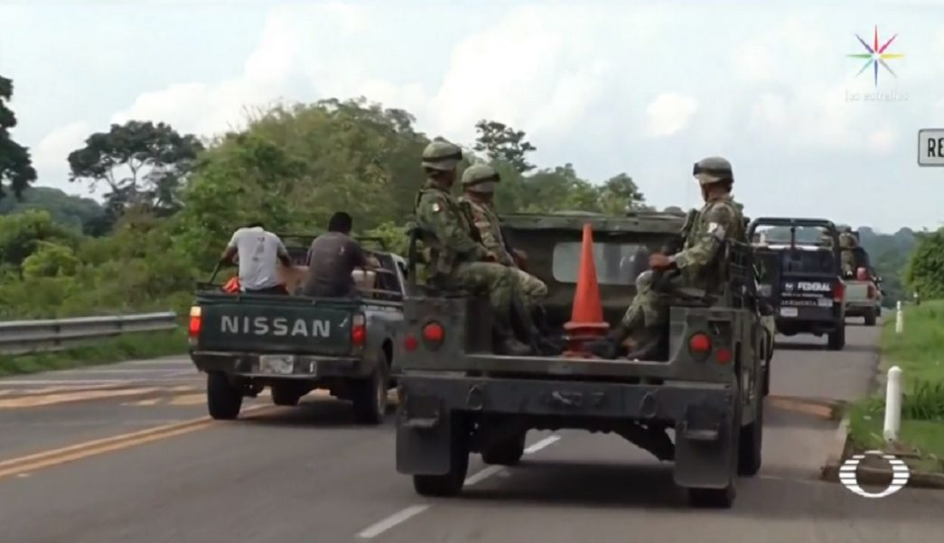 Ejército se adelanta a vigilar frontera sur de México