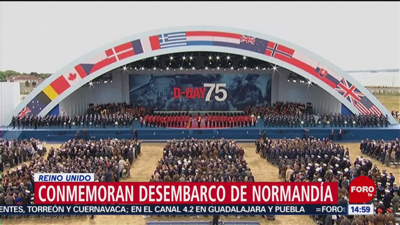 Foto: Conmemoran desembarco en Normandía; inicio del fin de la IIGM