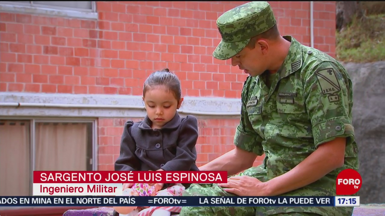 FOTO: Conoce un ingeniero militar en México y su concepto de la familia, 15 Junio 2019
