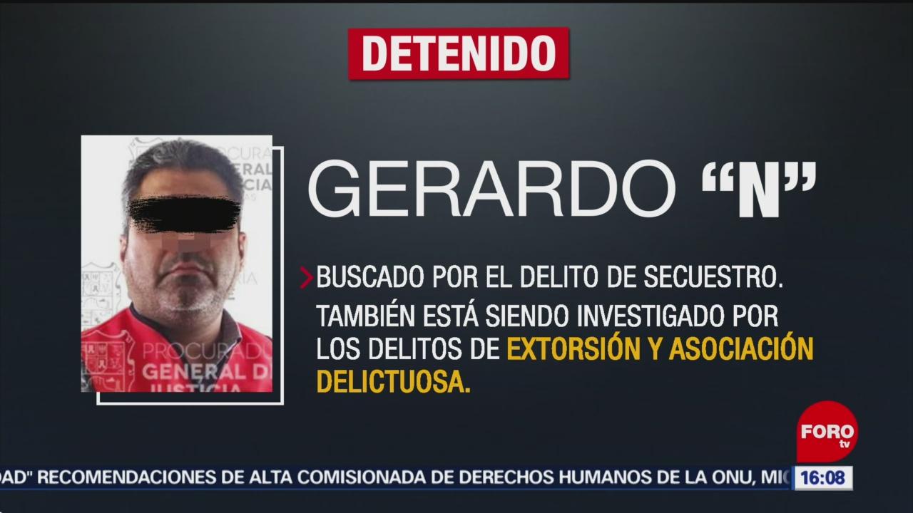FOTO:Detienen a Gerardo, alias 'La Perra', en Morelos, 22 Junio 2019