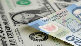 Foto: Imagen de billetes mexicanos y dólares, 20 junio 2019