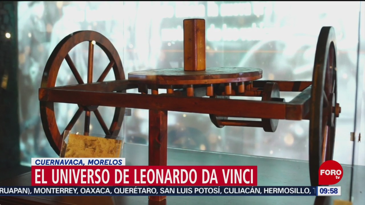 FOTO: El Universo de Leonardo Da Vinci, 29 Junio 2019