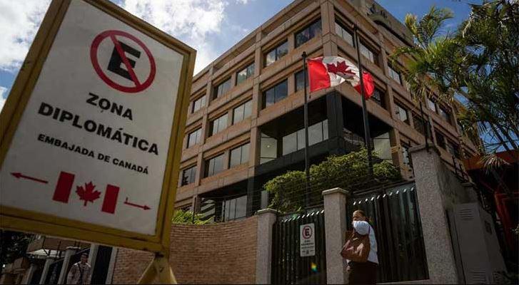 Foto: La Embajada en Caracas cerró temporalmente, 9 junio 2019