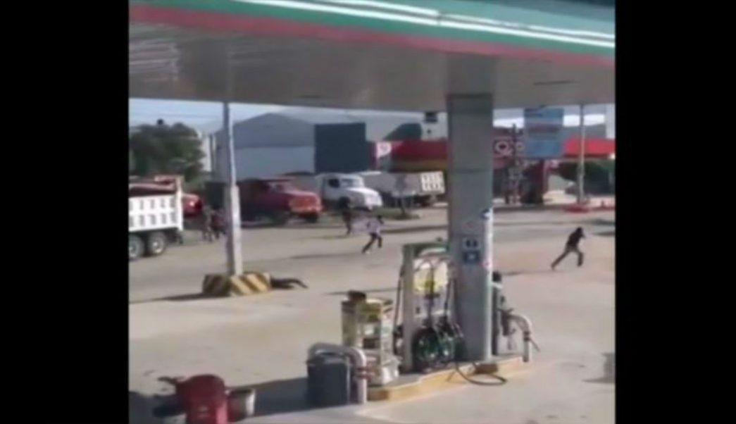 Enfrentamiento entre transportistas deja un muerto en Oaxaca. (Noticieros Televisa)