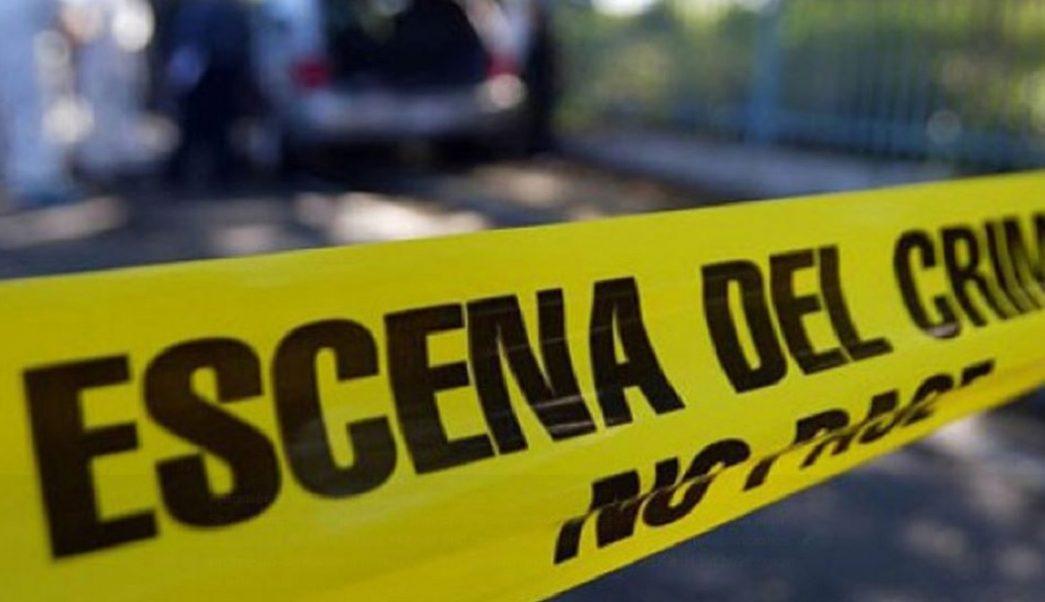 Foto: Escena del crimen. 12 agosto 2019