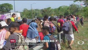 Foto: Llegada Migrantes México Aumente 12 Junio 2019