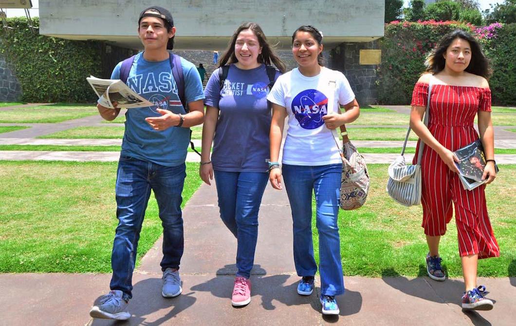 Foto Estudiantes de la UNAM ganan concurso de la NASA 4 junio 2019