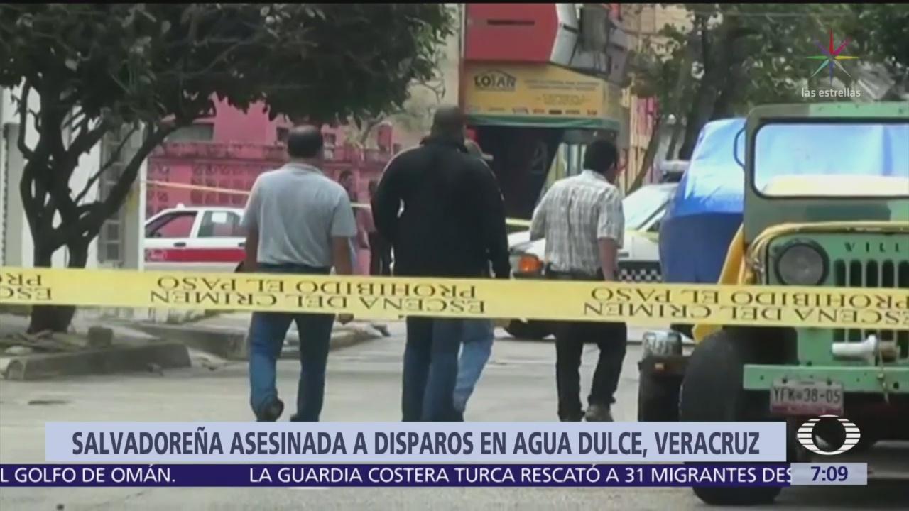 Fiscalía de Veracruz investiga homicidio de migrante salvadoreña