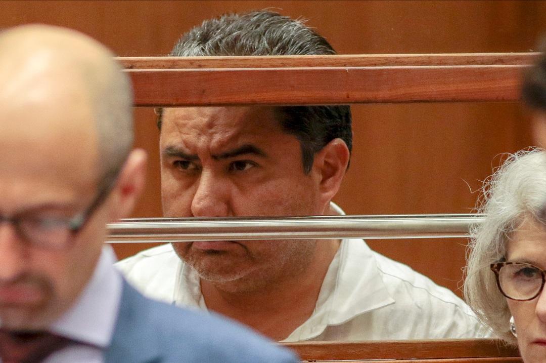 Foto: Naasón Joaquín García, líder de la iglesia La Luz del Mundo, detenido en Los Ángeles, EEUU. El 5 de junio de 2019