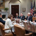 Foto: El canciller mexicano Marcelo Ebrard se reunió con el vicepresidente de Estados Unidos, Mike Pence, en la Casa Blanca. El 5 de junio de 2019