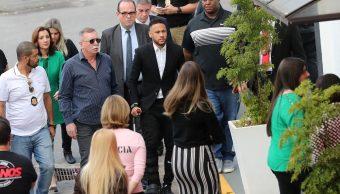 Foto: Neymar acudió a declarar a una comisaria en Sao Paulo, Brasil. El 13 de junio de 2019