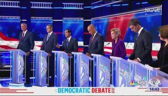 Foto: Ganadores y perdedores del primer debate entre candidatos demócratas