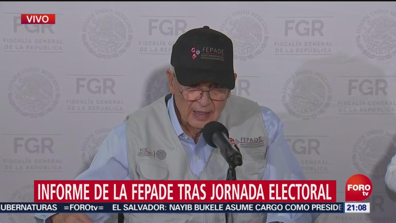 FOTO: Han sido las elecciones más vigiladas en la historia: Fepade, 2 Junio 2019