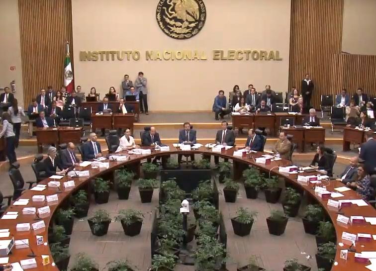FOTO INE exhorta a respetar leyes electorales en voto del 2 de junio 2019 cdmx YouTube