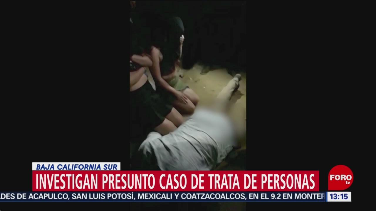 FOTO: Investigan presunta tortura a sexo servidoras en Baja California Sur