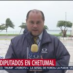FOTO: Lluvia podría afectar participación ciudadana en elecciones de Quintana Roo, 2 Junio 2019