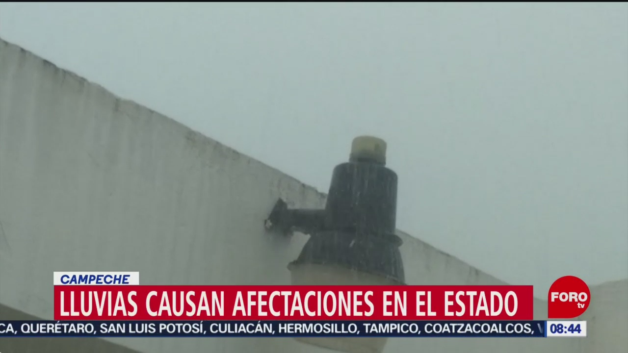 FOTO: Lluvias torrenciales afectan al menos 13 municipios de Campeche, 29 Junio 2019