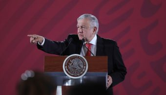 Foto: El presidente López Obrador en conferencia de prensa, 25 de junio de 2019, Ciudad de México