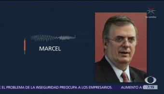Marcelo Ebrard define la nueva política migratoria del Gobierno federal