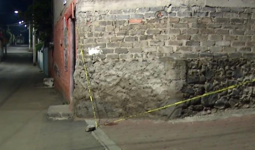 FOTO Matan a dos hombres en la alcaldía Xochimilco. (Noticieros Televisa 20 junio 2019 cdmx)