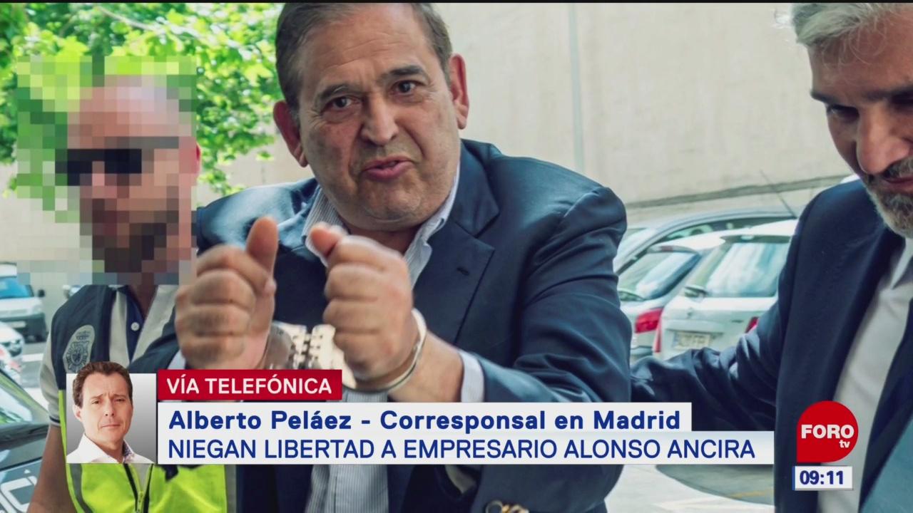 Niega España libertad a dueño de AHMSA