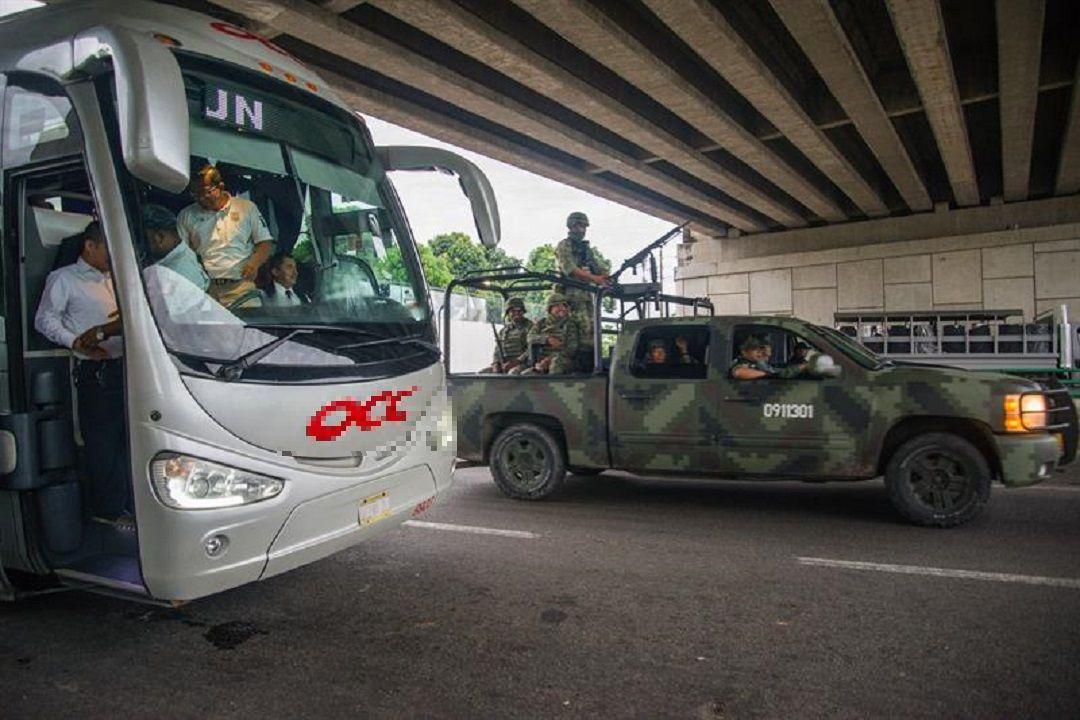 Foto: operativo migratorio en Chiapas, 14 de junio 2019. EFE