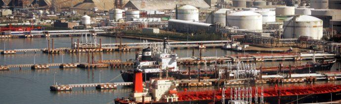 Foto: Petroquímica Pajaritos, en Coatzacoalcos, Veracruz, 13 de junio de 2005, México
