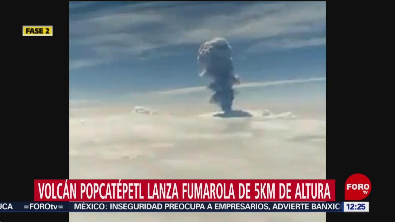 Podría caer ceniza del Popocatépetl en 10 municipios de Puebla