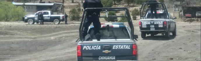 Foto: Operativo de seguridad en Chihuahua, 3 de junio 2019. Twitter @ces_chihuahua