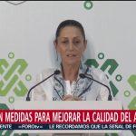 FOTO: Presentan 14 medidas para mejorar la calidad del aire en el Valle de México
