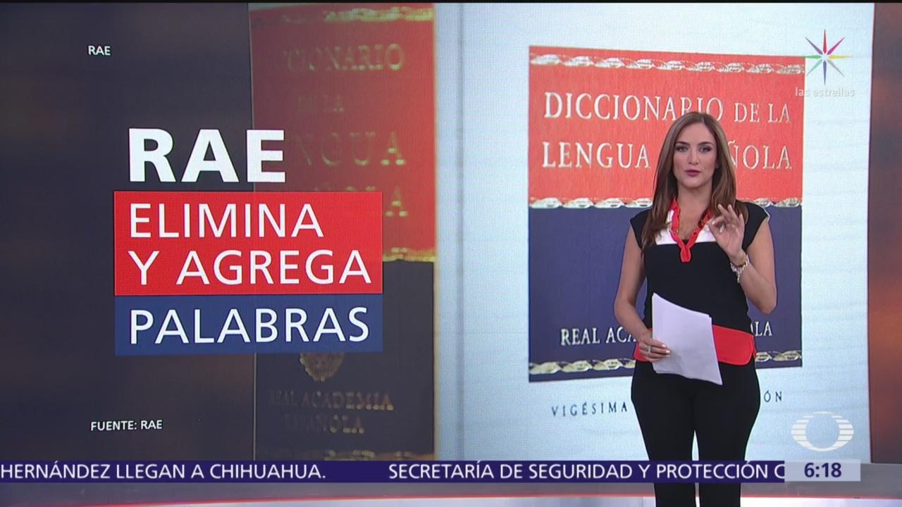 RAE elimina y agrega palabras de su diccionario
