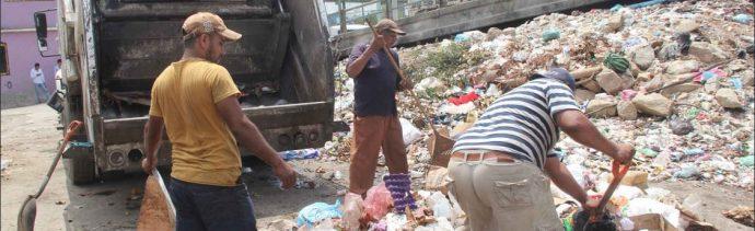 Foto: recolección de basura, 7 de junio 2019. Twitter @AcapulcoGob