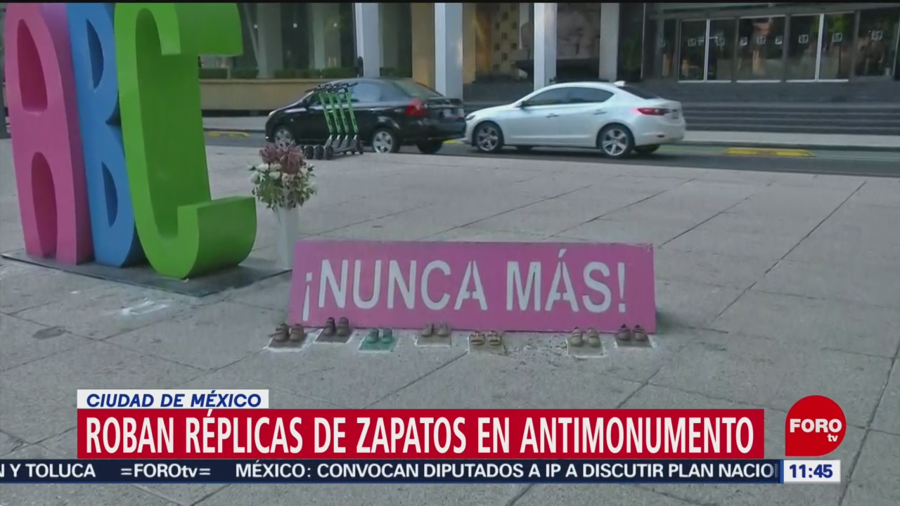 FOTO: Roban zapatitos de bronce de monumento a víctimas de la Guardería ABC