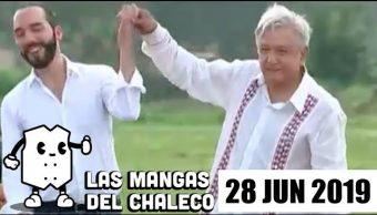 Foto: Las Mangas del Chaleco del 27 de junio