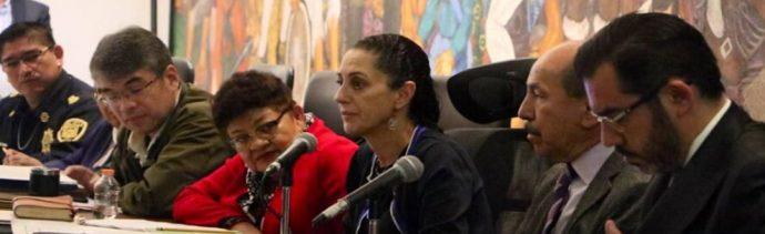 Sheinbaum niega crisis por inseguridad en la CDMX; Godoy que no es un asunto generalizado