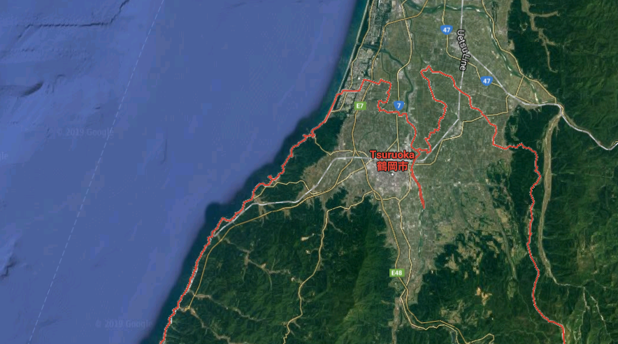 FOTO Sismo sacude Japón, emiten alerta de tsunami (Google Maps 18 junio 2019)