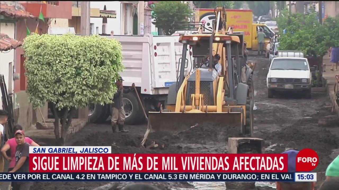 Tareas De Limpieza En San Gabriel Jalisco
