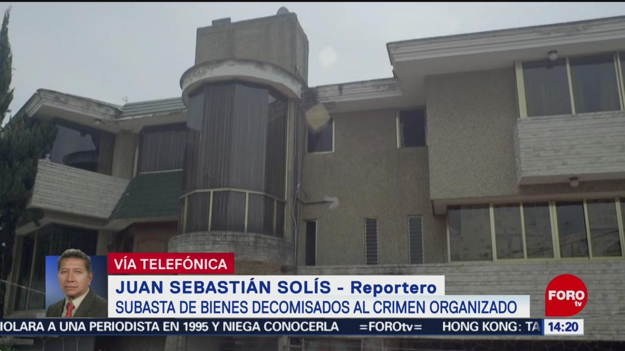 FOTO: Termina subasta de bienes del crimen en Los Pinos, 23 Junio 2019