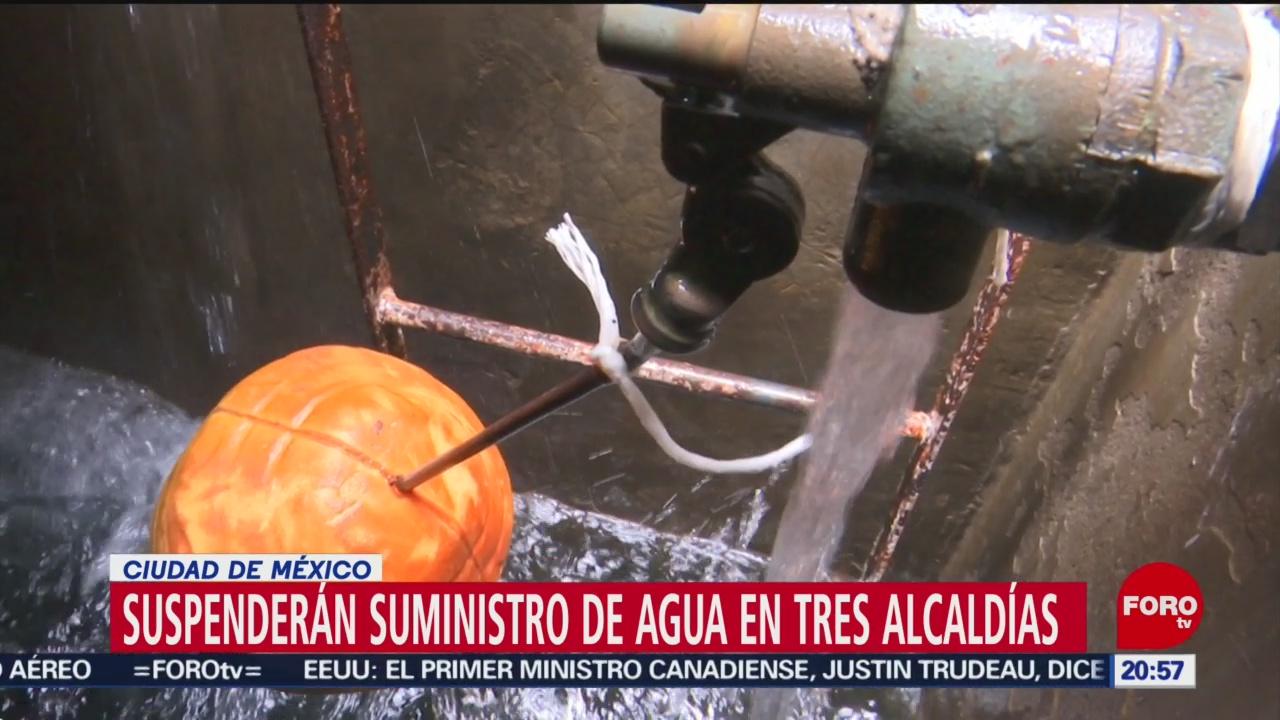 Foto: Alcaldías Cdmx Sin Agua Potable Corte 20 Junio 2019