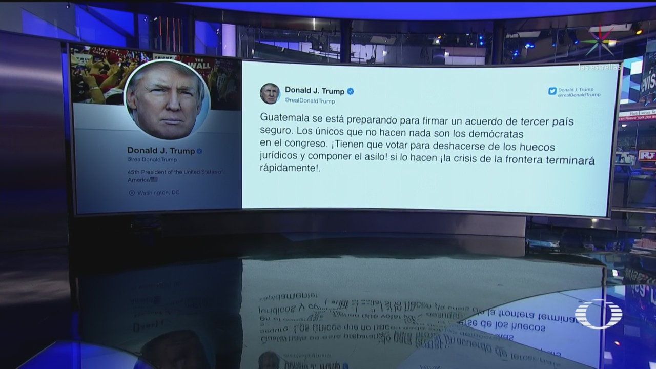 Foto: Trump Anuncia Ice Sacará Extranjeros Ilegales Estados Unidos 17 Junio 2019
