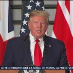 Trump considera que los aranceles a México sí serán aplicados