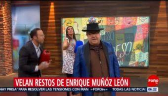 Velan restos de Enrique Muñoz, colaborador de Expreso de la Mañana