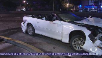 Accidente en calzada de Tlalpan deja un motociclista herido